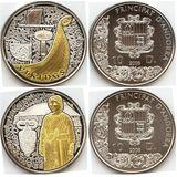 Наборы 2008, серебро (Ag 925) | Викинги (4 монеты) — Андорра, фото 1