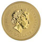 15 долларов 2000, золото (Au 999) | Год Дракона — Австралия, фото 1