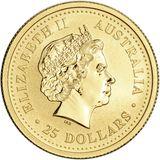 25 долларов 2000, золото (Au 999) | Год Дракона — Австралия, фото 1