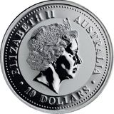 10 долларов 2003, серебро (Ag 999)   Год Козы — Австралия, фото 1