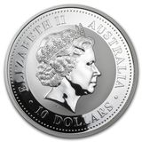 10 долларов 2004, серебро (Ag 999)   Год Обезьяны — Австралия, фото 1