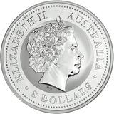 8 долларов 2004, серебро (Ag 999) | Год Обезьяны — Австралия, фото 1