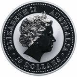 15 долларов 2005, серебро (Ag 999) | Год Петуха (цветная) — Австралия, фото 1