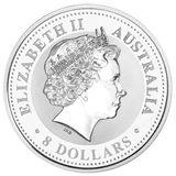 8 долларов 2005, серебро (Ag 999) | Год Петуха — Австралия, фото 1