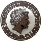 10 долларов 2006, серебро (Ag 999)   Кукабара — Австралия, фото 1