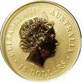 15 долларов 2006, золото (Au 999) | Кенгуру — Австралия, фото 1