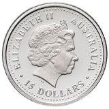 15 долларов 2006, платина (Pt 999) | Орхидея — Австралия, фото 1