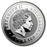 8 долларов 2006, серебро (Ag 999) | Год Собаки (цветная) — Австралия, фото 1