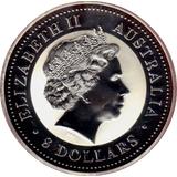 8 долларов 2007, серебро (Ag 999) | Год Свиньи (цветная) — Австралия, фото 1