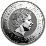 8 долларов 2007, серебро (Ag 999) | Год Свиньи — Австралия, фото 1