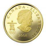 75 долларов 2008, золото (Au 583) | Ванкувер 2010: инукшук — Канада, фото 1