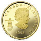 75 долларов 2008, золото (Au 583) | Ванкувер 2010: дом олимпиады — Канада, фото 1