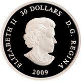 30 долларов 2009, серебро (Ag 925) | Международный год астрономии — Канада, фото 1