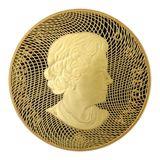 300 долларов 2009, золото (Au 583) | Маска летней луны — Канада, фото 1