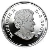 15 долларов 2011, серебро (Ag 999) | Клен счастья (птица) — Канада, фото 1