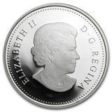 20 долларов 2011, серебро (Ag 999) | Кленовый лист с каплей — Канада, фото 1