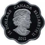 15 долларов 2012, серебро (Ag 999) | Год дракона — Канада, фото 1