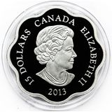 15 долларов 2013, серебро (Ag 999) | Год змеи — Канада, фото 1