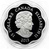 15 долларов 2014, серебро (Ag 999) | Год лошади — Канада, фото 1