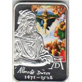 10 динеров 2010, серебро (Ag 925) | Художники мира: Альбрехт Дюрер — Андорра, фото 1