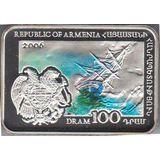 100 драмов 2006, серебро (Ag 925) | Ованес Айвазовский, фото 1