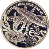 1,5 евро 2005, серебро (Ag 925) | Жюль Верн. 20000 лье под водой, фото 1