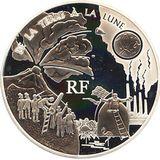 1,5 евро 2005, серебро (Ag 925) | Жюль Верн. С Земли на Луну, фото 1