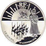1,5 евро 2005, серебро (Ag 925) | 200-летие битвы под Аустерлицем (Солнце Аустерлица), фото 1
