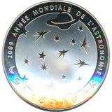 10 евро 2009, серебро (Ag 925) | Год астрономии, фото 1