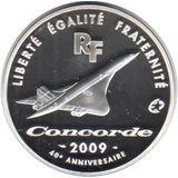10 евро 2009, серебро (Ag 925) | Конкорд, фото 1