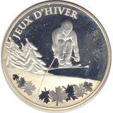 10 евро 2009, серебро (Ag 925) | Олимпиада в Ванкувере, фото 1