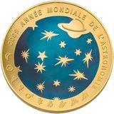 200 евро 2009, золото (Au 999) | Год астрономии, фото 1