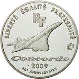50 евро 2009, серебро (Ag 925) | Конкорд, фото 1