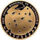 50 евро 2009, золото (Au 999) | Год астрономии, фото 1