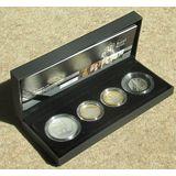 Наборы 2009, серебро (Ag 925) | Набор: Генрих VIII, Дарвин, Бернс, Королевские сады — Великобритания, фото 1
