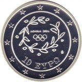 10 евро 2004, серебро (Ag 925) | Конный спорт — Греция, фото 1