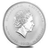 30 долларов 2012, серебро (Ag 999)   Год Дракона — Австралия, фото 1