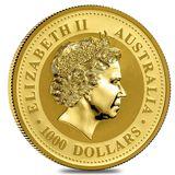 1000 долларов 2007, золото (Au 999) | Год Свиньи — Австралия, фото 1