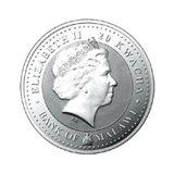20 квача 2009, серебро (Ag 999) | Бык Фу — Малави, фото 1
