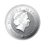 20 квача 2009, серебро (Ag 999) | Бык Шу — Малави, фото 1