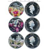 Набор монет Орхидеи — Ниуэ, 2013, фото 1