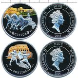 Набор монет Колизей — Ниуэ, 2014, фото 1