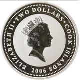 2 доллара 2006, серебро (Ag 925) | Джи Би — Острова Кука, фото 1