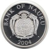 10 долларов 2004, серебро (Ag 925) | Колизей — Науру, фото 1