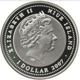 1 доллар 2007, серебро (Ag 925) | Тобольск — Ниуэ, фото 1