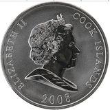 10 долларов 2008, серебро (Ag 925)   Форд — Острова Кука, фото 1