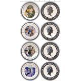 Набор монет Кино о Холмсе (8 долларов) — Острова Кука, 2007, фото 1