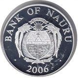 10 долларов 2006, серебро (Ag 925) | Собор архангела Михаила — Науру, фото 1