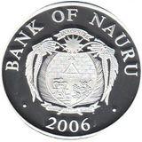 10 долларов 2006, серебро (Ag 925) | Сантьяго де Компостела — Науру, фото 1