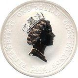 1 доллар 2006, серебро (Ag 925) | Пожарная машина Гарфорд — Острова Кука, фото 1
